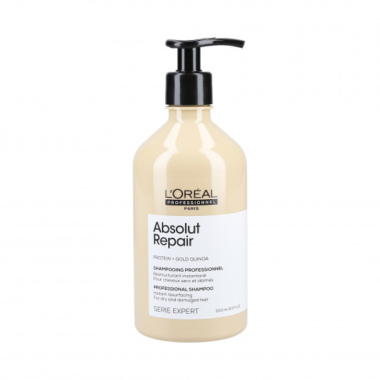 L'OREAL PROFESSIONNEL ABSOLUT REPAIR Shampooing restructurant Gold Quinoa + Protein 500ml - 1