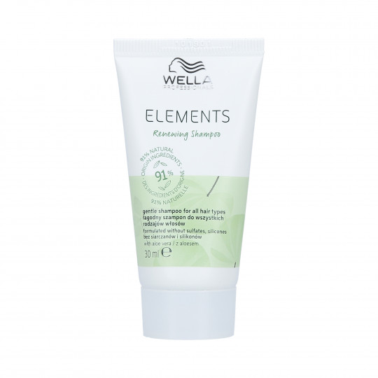 WELLA PROFESSIONALS ELEMENTS RENEWING Shampooings lissant 30ml - 1