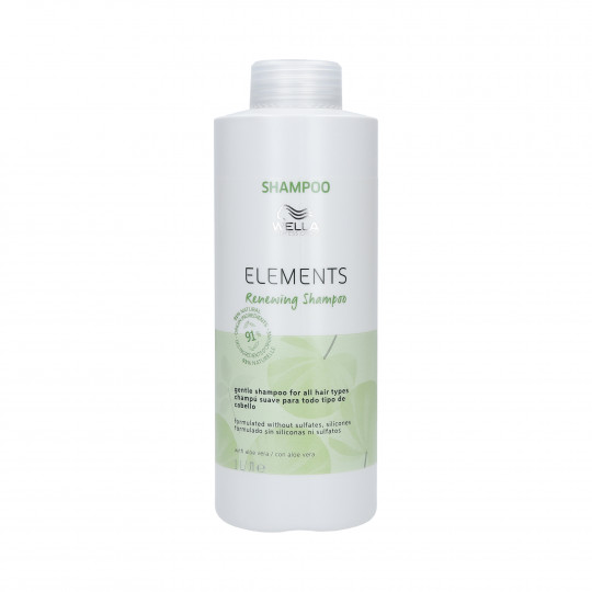 WELLA PROFESSIONALS ELEMENTS RENEWING Shampooings lissant 1000ml - 1