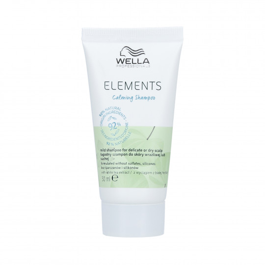 WELLA PROFESSIONALS ELEMENTS CALMING Shampooing apaisant 30ml - 1