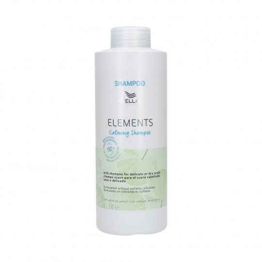 WELLA PROFESSIONALS ELEMENTS CALMING Shampooing apaisant 1000ml - 1