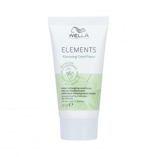 WELLA PROFESSIONALS ELEMENTS RENEWING Après-shampooing lissant 30ml - 1