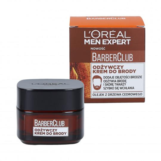 L'OREAL PARIS MEN EXPERT BARBER CLUB Crème à barbe nourrissante 50ml - 1